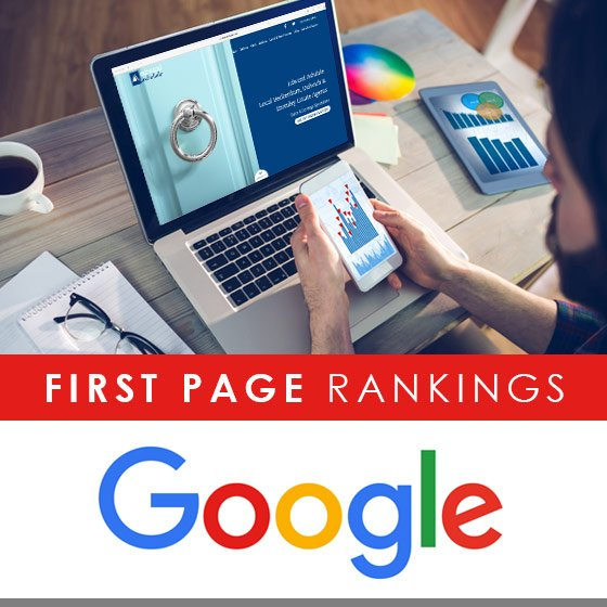 Edward Ashdale Case Study - First page Google Rankings