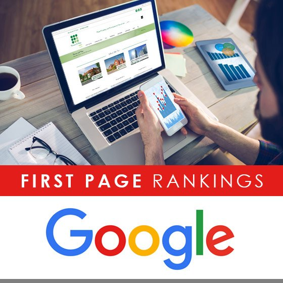 Tanner & Tilley first page Google rankings