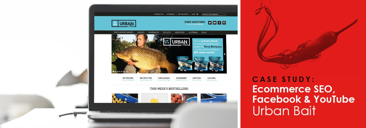 Case study - Urban Bait uses Smoking Chili Media for Ecommerce SEO, Facebook & YouTube Marketing