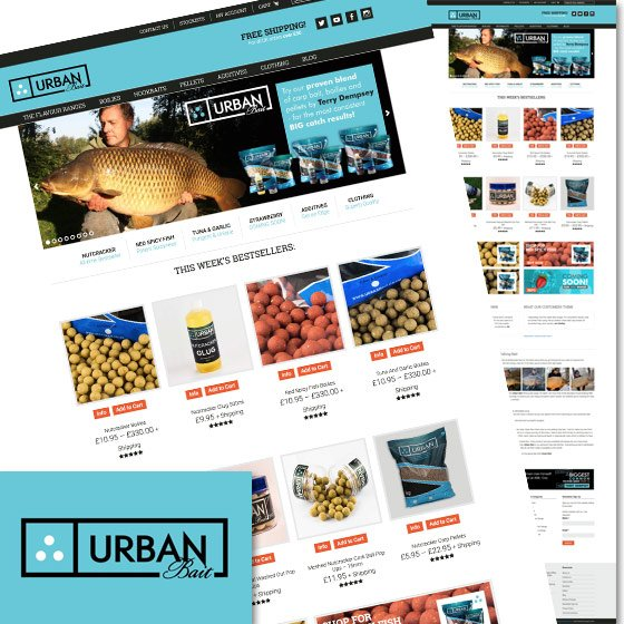 SEO and Website Design for Urban Bait by Smoking Chili Media
