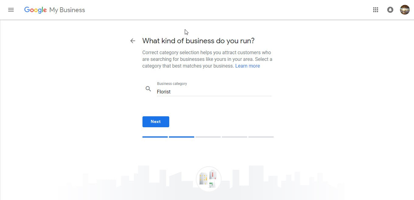 Registering Business Categories Google My Business